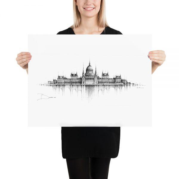 BUDAPEST Panorama Mix – PAPER Print