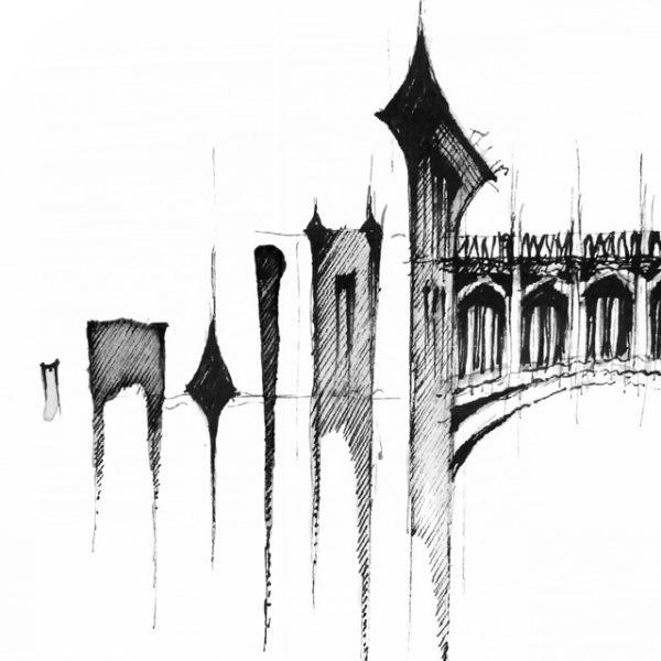 CAMBRIDGE Panorama Mix BW – POSTER