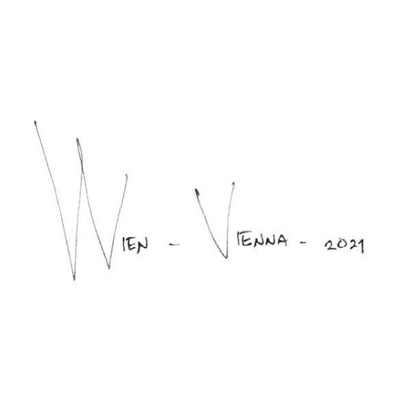 WIEN / VIENNA Panorama Mix BW – POSTER