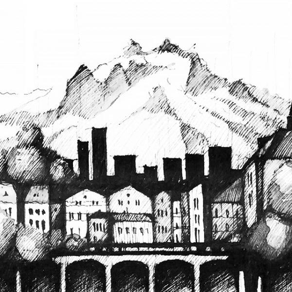 ZÜRICH Panorama Mix - POSTER